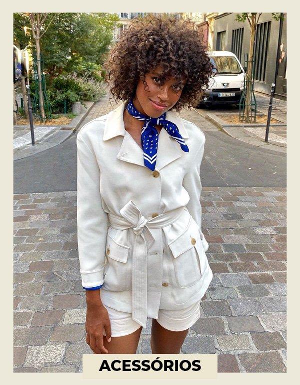Hanna Lhoumeau - usar estampas no verão - looks estampados - verão - street style - https://stealthelook.com.br