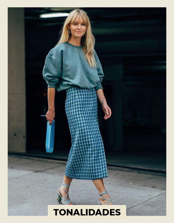 Jeanette Madsen - usar estampas no verão - looks estampados - verão - street style - https://stealthelook.com.br