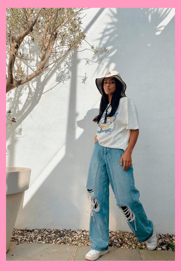 Hanna Roslan - Calça jeans - Calça Jeans  - verão - street style  - https://stealthelook.com.br
