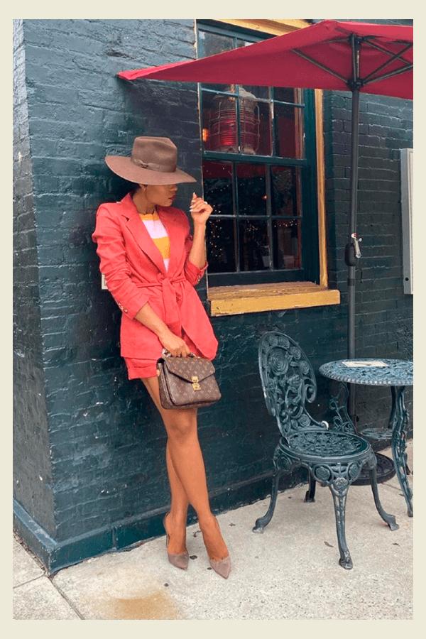 Stella Adewunmi - chapéu  - chapéu  - verão - street style  - https://stealthelook.com.br