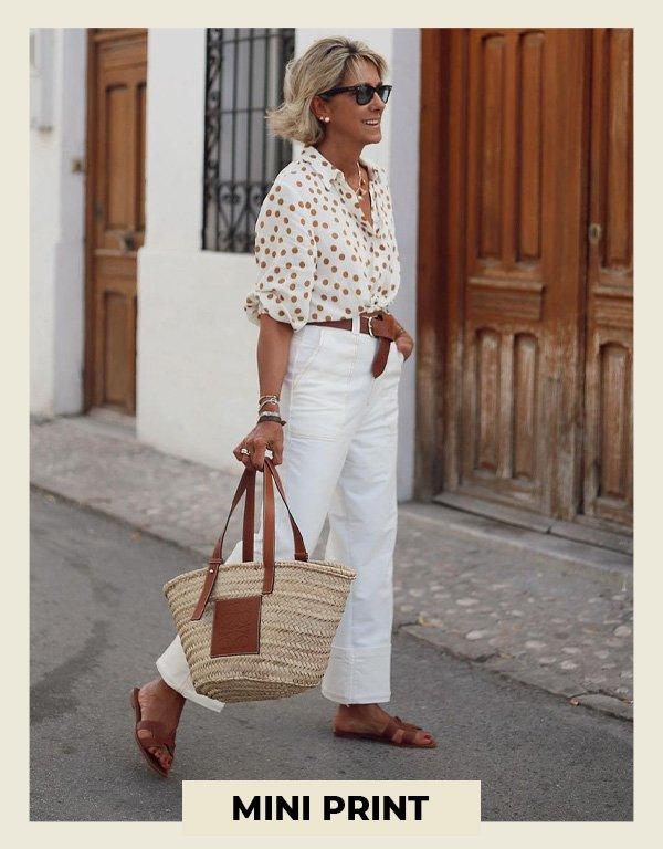 Margarita Argüelles - usar estampas no verão - looks estampados - verão - street style - https://stealthelook.com.br