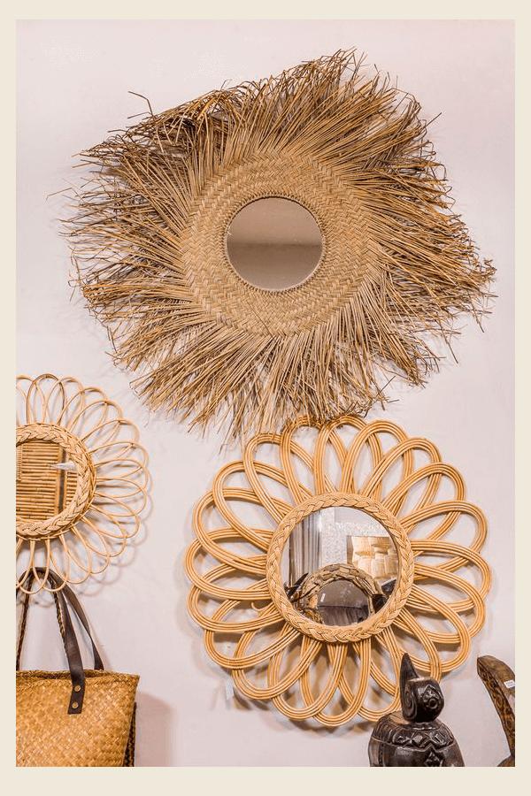 Pinterest - espelho - palha - Inverno - Em casa - https://stealthelook.com.br