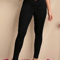 Quintess - Calça Jeans Preta Skinny