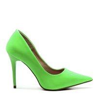 Scarpin Royalz Verniz Neon Fluorescente Penélope Feminino - Verde