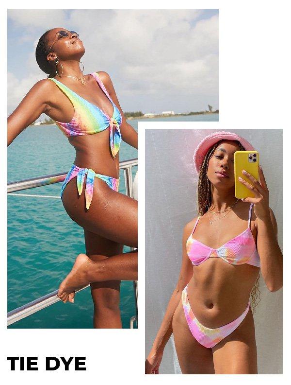 Chrissy Rutherford, Amaka Hamelijnck - modelos de biquínis - beachwear - verão - street style - https://stealthelook.com.br