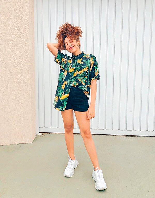 It girls - Camisa - Truque de Styling - Primavera - Em casa - https://stealthelook.com.br