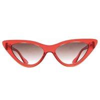 Óculos de Sol Evoke Catfish T01/54 Feminino - Vermelho