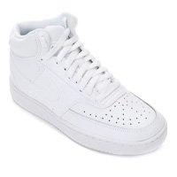 Tênis Nike Court Vision Mid Feminino - Branco
