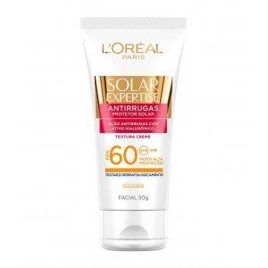 Protetor Solar Facial Loréal Antirrugas Expertise FPS 60