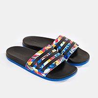 chinelo adilete adidas tropical paradise