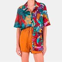 camisa pincelada de tucano