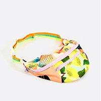 maxi pochete limoeiro - multicolorido - u