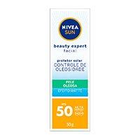 NIVEA SUN BEAUTY EXPERT FACIAL PELE OLEOSA FPS50 50G
