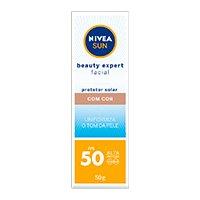 NIVEA SUN BEAUTY EXPERT FACIAL COM COR FPS50 50G