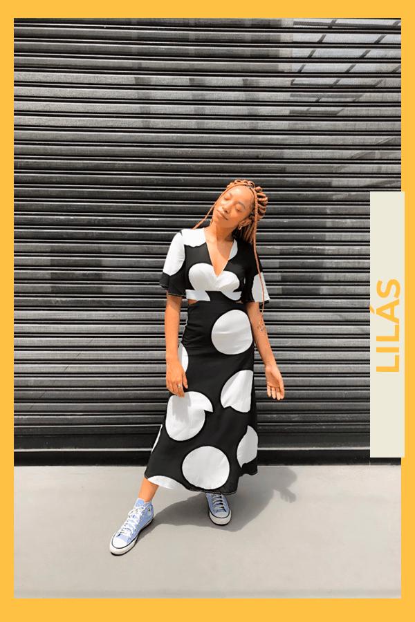 Luma Jady - vestido - all star - verão - street style  - https://stealthelook.com.br