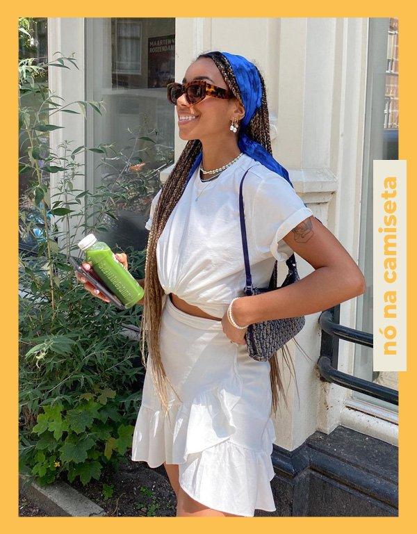 Amaka Hamelijnck - truque de styling - styling tip - verão - street style - https://stealthelook.com.br