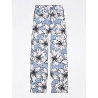 calça jeans estampada tropical paradise levis