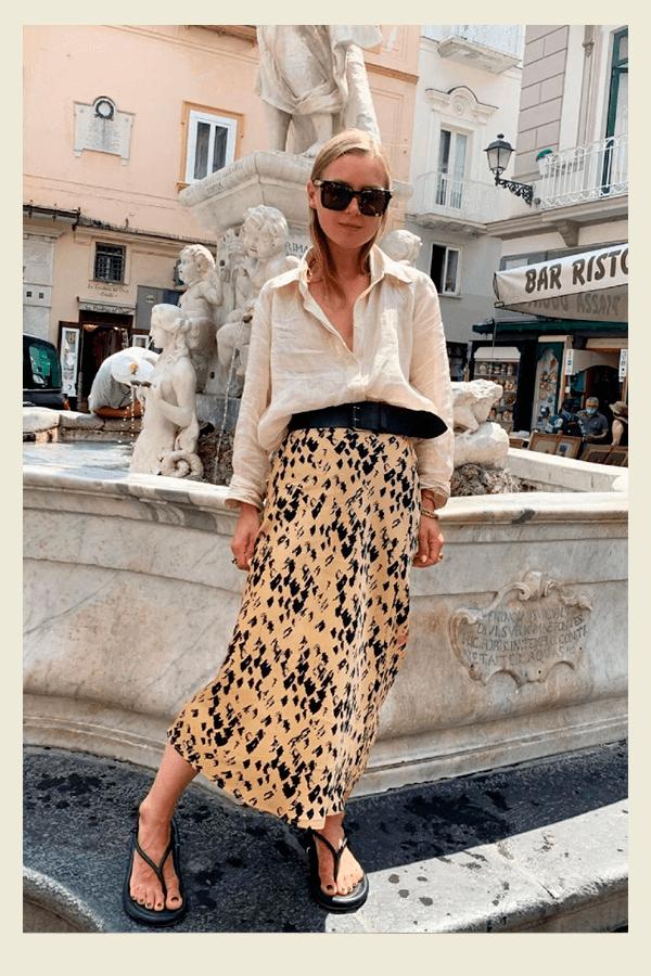 Anna Borisovna - Saia - chic no calor - verão - street style  - https://stealthelook.com.br