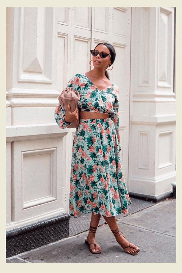 Janelle Marie - peça estampada - chic no calor - verão - street style  - https://stealthelook.com.br