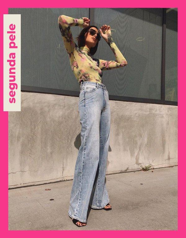 Danielle Bernstein - tendências de 2021 - segunda  pele - verão - street style - https://stealthelook.com.br