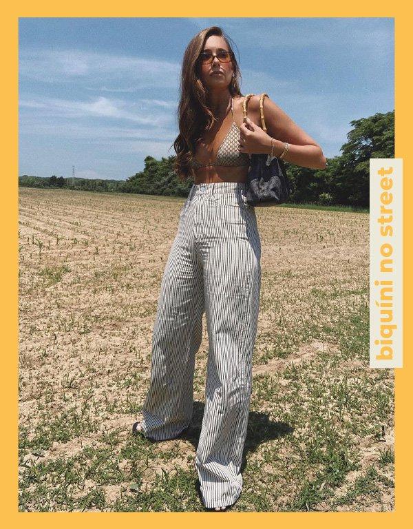 Danielle Bernstein - truque de styling - biquíni - verão - street style - https://stealthelook.com.br