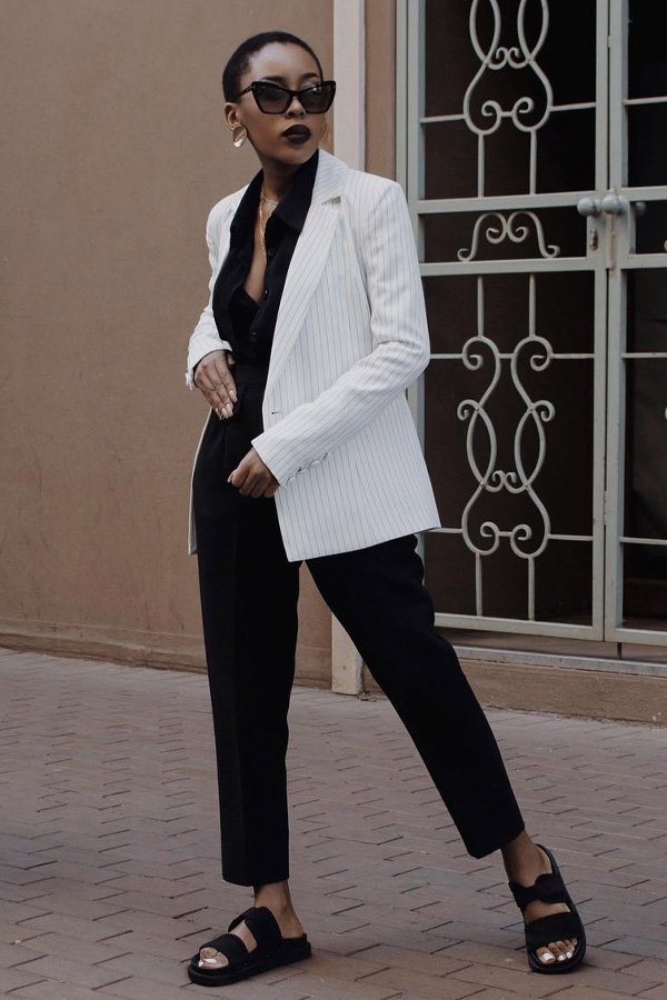 Débora Rosa, Shelley Mokoena - modelos de sapatos - sandálias - verão - street style - https://stealthelook.com.br