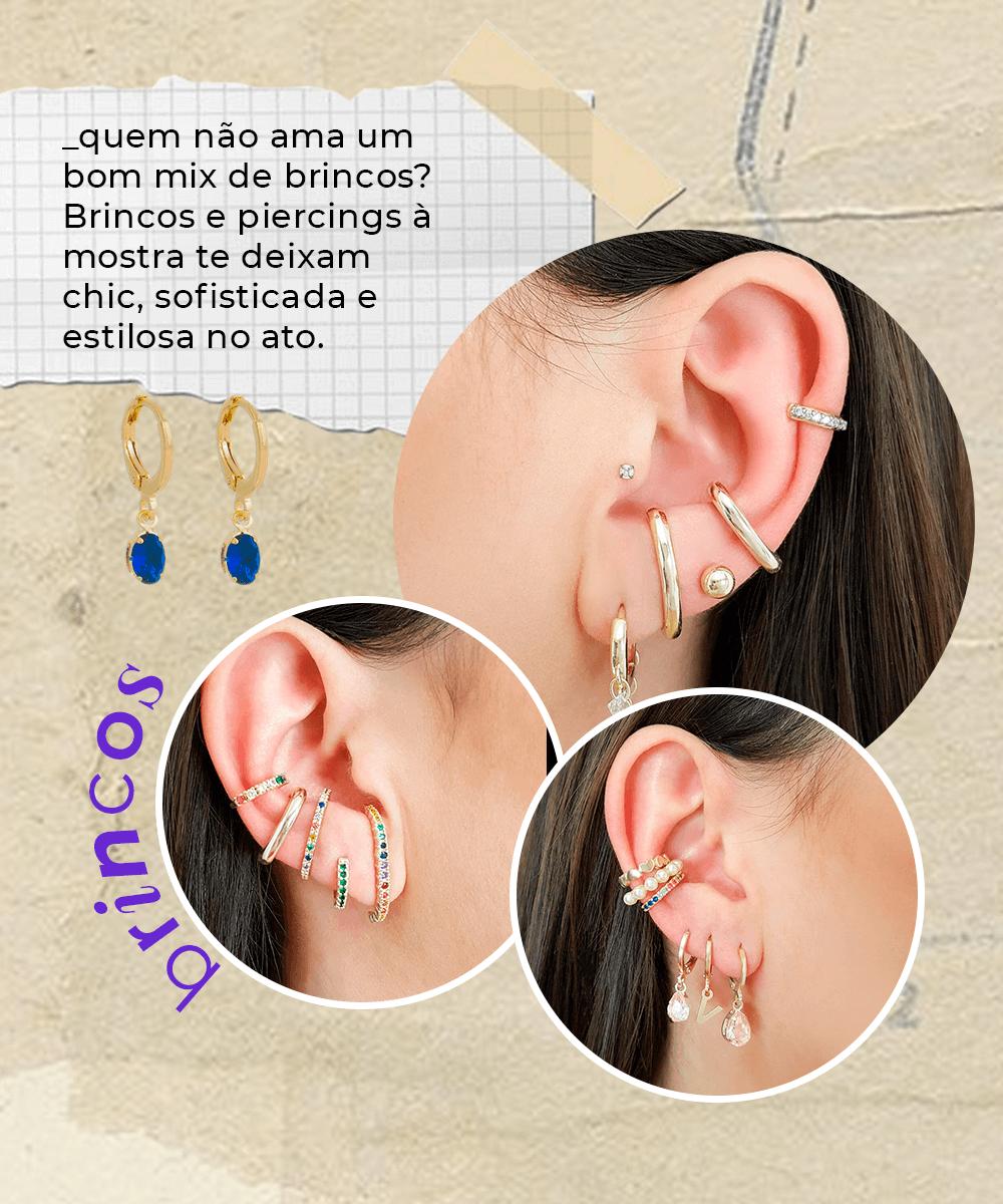 It girls - Brincos - Mix de acessórios - Primavera - Em casa - https://stealthelook.com.br