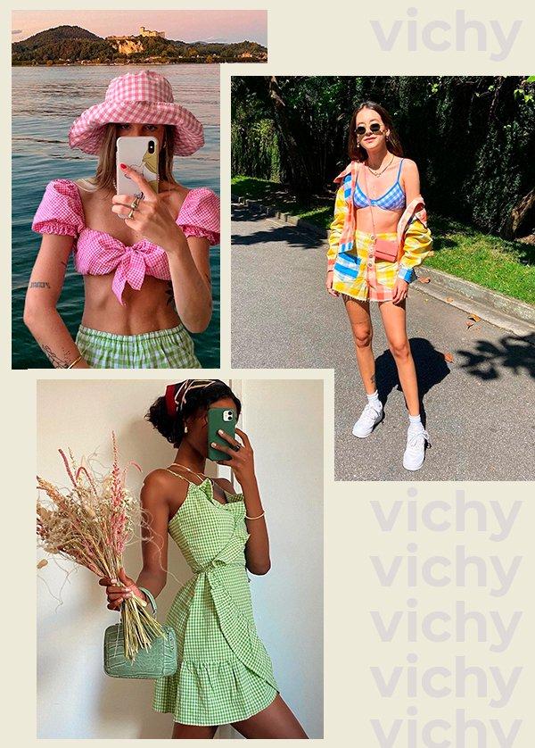 It girls - Vichy - Vichy - Verão - Street Style - https://stealthelook.com.br