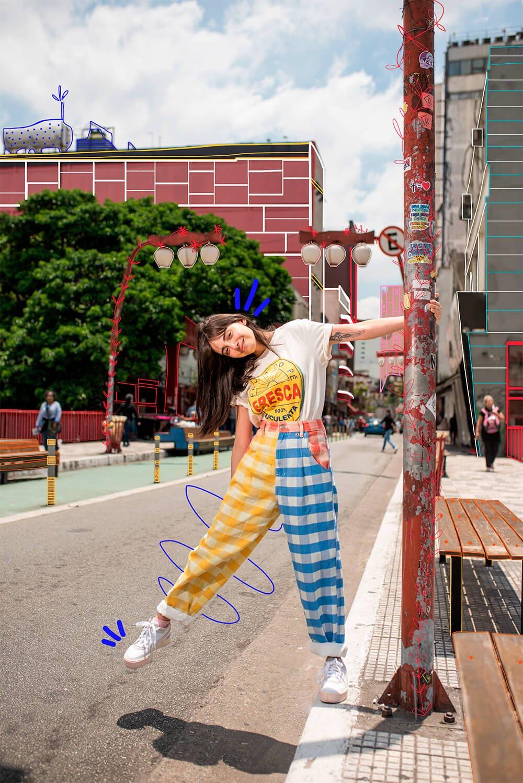 Giovana Marçon - looks coloridos - looks da farm - verão - street style - https://stealthelook.com.br