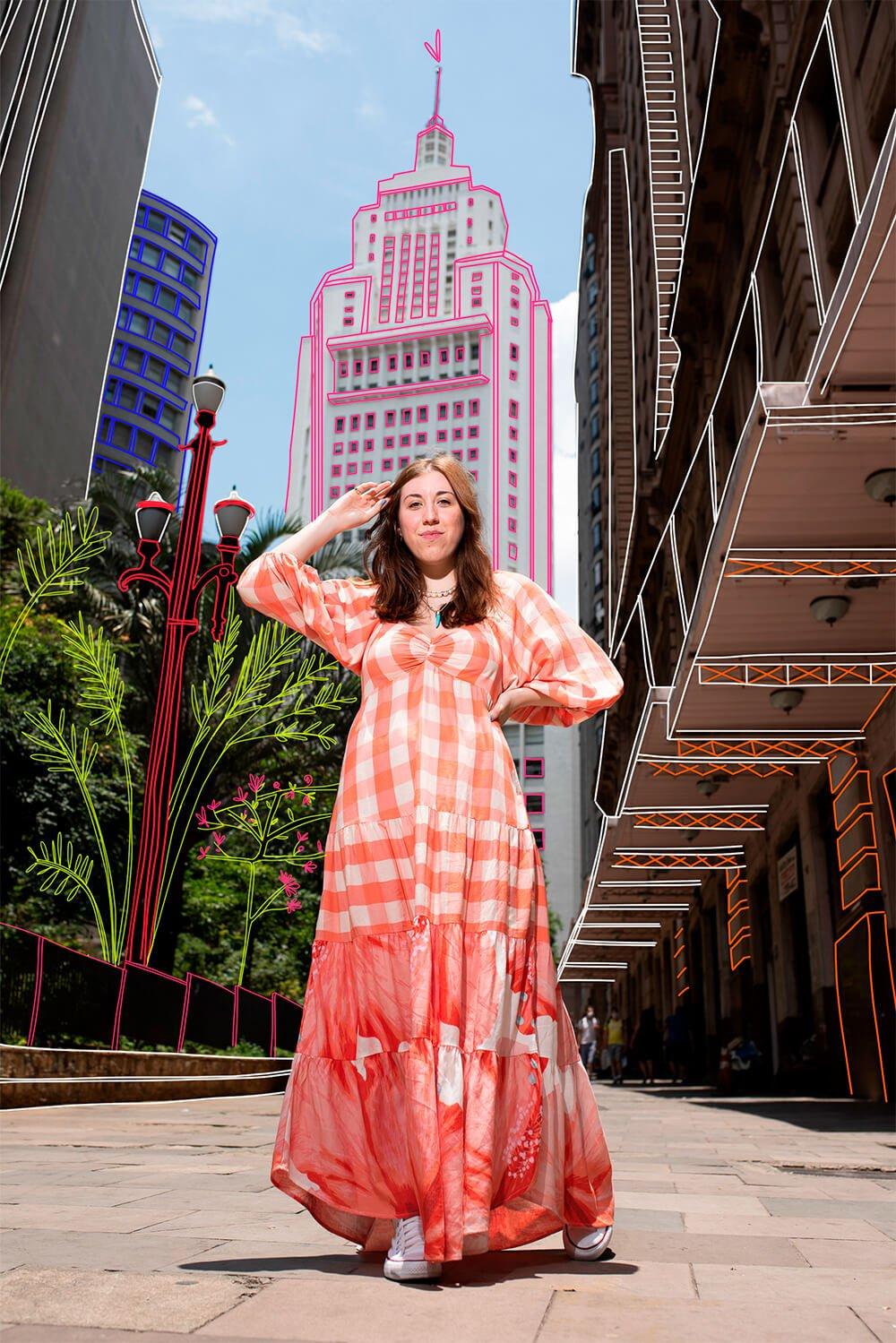 Giulia Coronato - looks coloridos - looks da farm - verão - street style - https://stealthelook.com.br