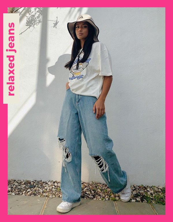 Hanna Roslan - tendências de 2021 - relaxed jeans - verão - street style - https://stealthelook.com.br