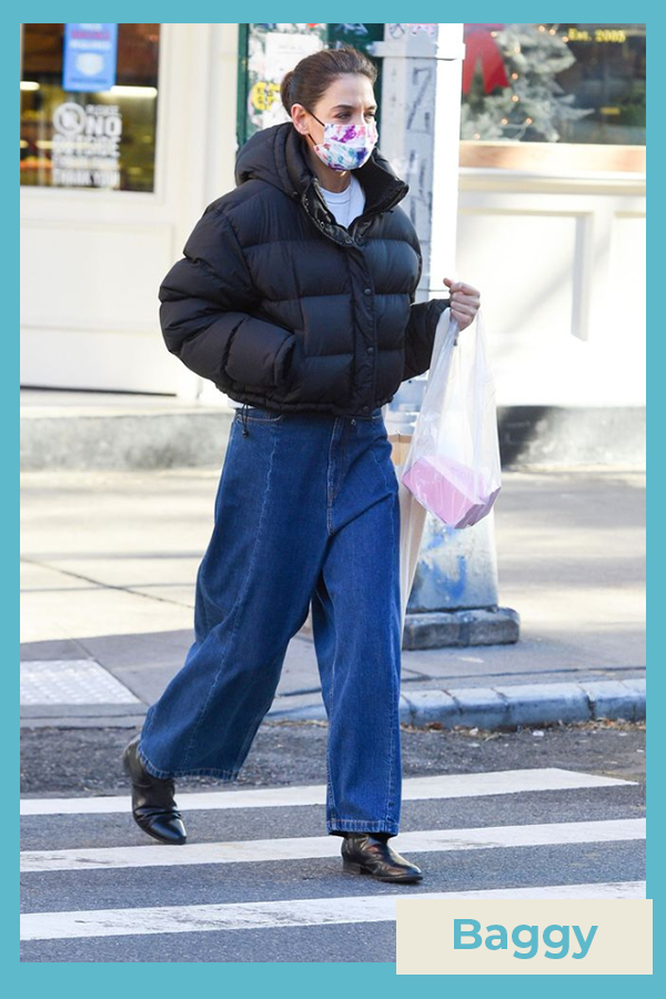 Katie Holmes  - Calça jeans - Katie Holmes - Inverno - street style  - https://stealthelook.com.br