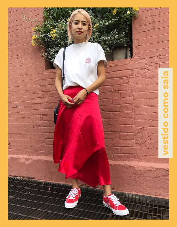 Michelle Li - truques de styling - vestido - verão - street style - https://stealthelook.com.br