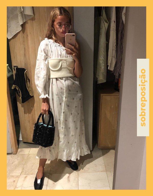 Stephanie Broek - truques de styling - vestido - verão - street style - https://stealthelook.com.br