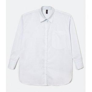 Camisa Oversized Lisa em Tricoline