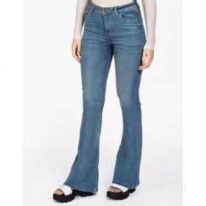 Calça Feminina Jeans Flare Used Cl Tamanho 36