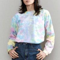 Camiseta Tie Dye Manga Longa Candy Color
