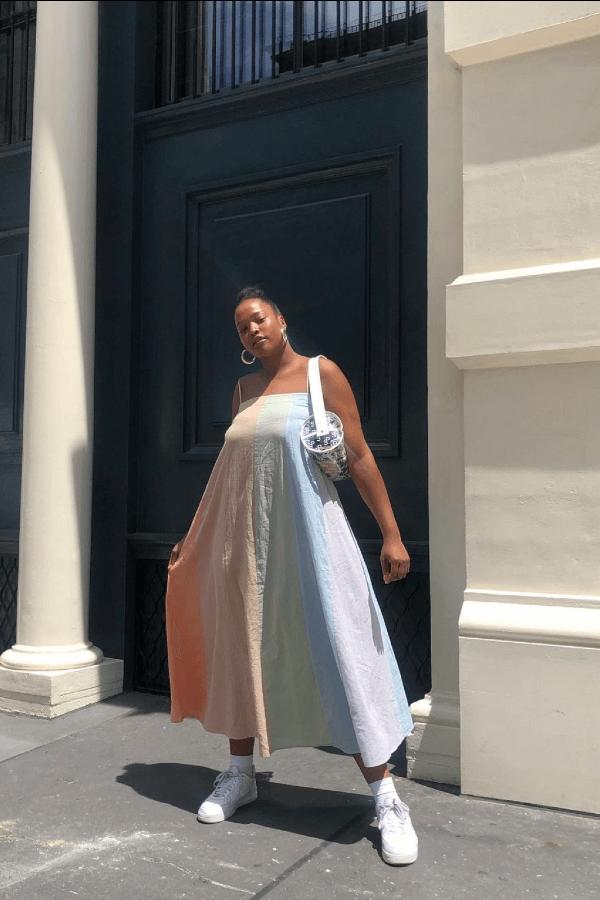 Imani Randolph - vestido - armário de verão - verão - street style  - https://stealthelook.com.br