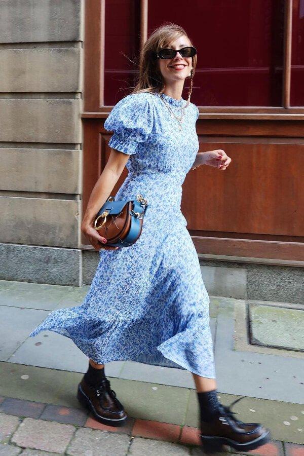 Megan Ellaby - vestido - armário de verão - verão - street style  - https://stealthelook.com.br