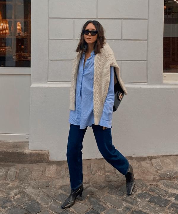 Débora Rosa - camisa básica - camisa básica  - Inverno - street style  - https://stealthelook.com.br