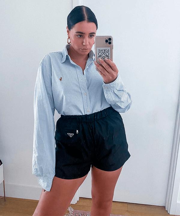 Grace - camisa básica - camisa básica  - verão - Em casa - https://stealthelook.com.br