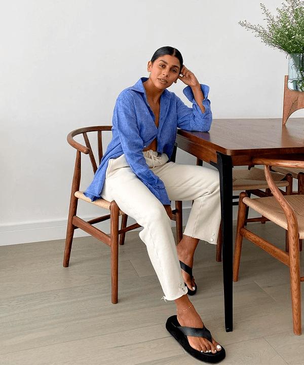 Monikh Dale  - camisa básica - camisa básica  - verão - Em casa - https://stealthelook.com.br