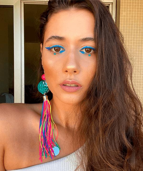 It's a Makeup Mood l BIA - fantasias de carnaval  - fantasias de carnaval  - verão - Em casa - https://stealthelook.com.br