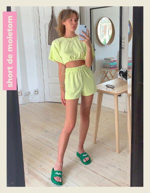 Karoline Beltner - peças básicas - home office looks - verão - street style - https://stealthelook.com.br