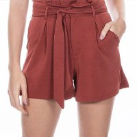 Shorts Feminino Clochard Terra Tamanho Xp