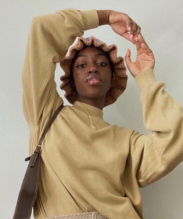 Lexichi Crochet - acessórios de cabelo - bucket hat de tricot - verão - street style - https://stealthelook.com.br