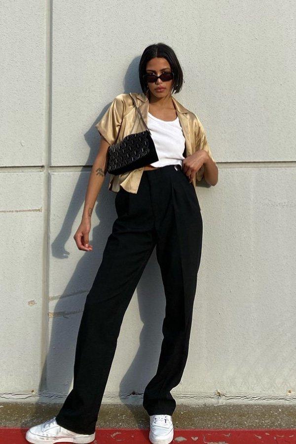 Pinterest - camiseta branca - looks de verão - verão - street style  - https://stealthelook.com.br