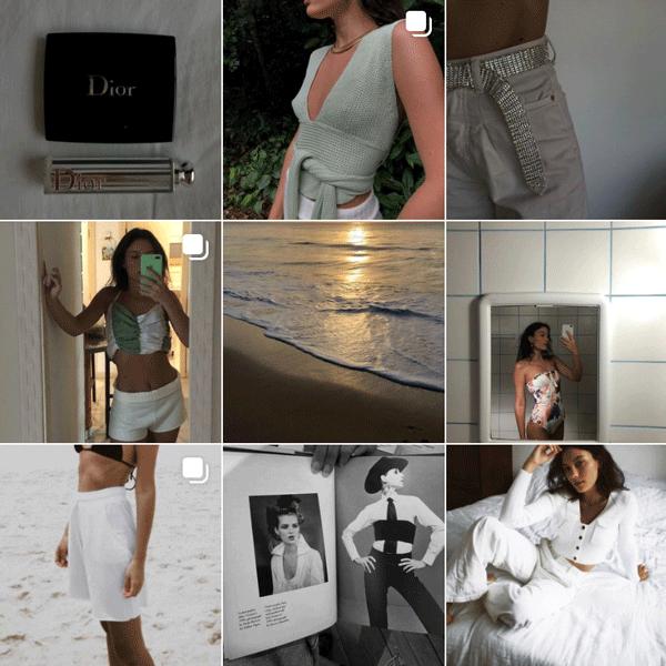 Daniela Laender - feed - micro influenciadoras - verão - instagram - https://stealthelook.com.br