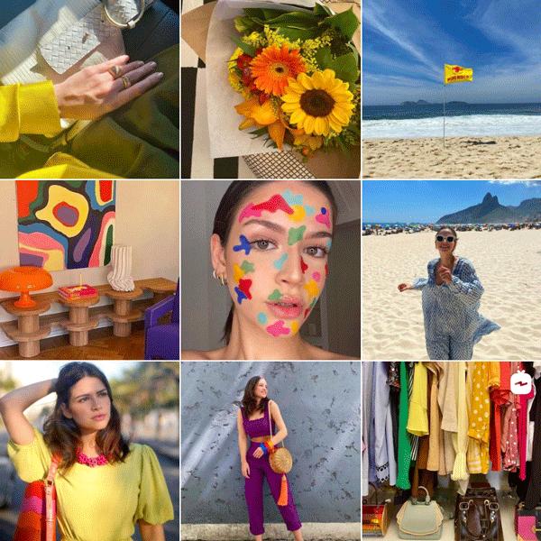 Alexandra Burnier - feed - micro influenciadoras - verão - instagram - https://stealthelook.com.br