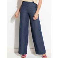 Quintess - Calça Jeans Pantalona Quintess